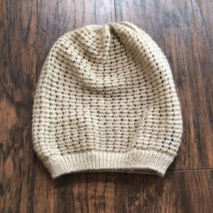 Pacsun tan knit beanie